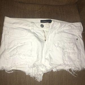 High-Waisted Cutoff Shorts